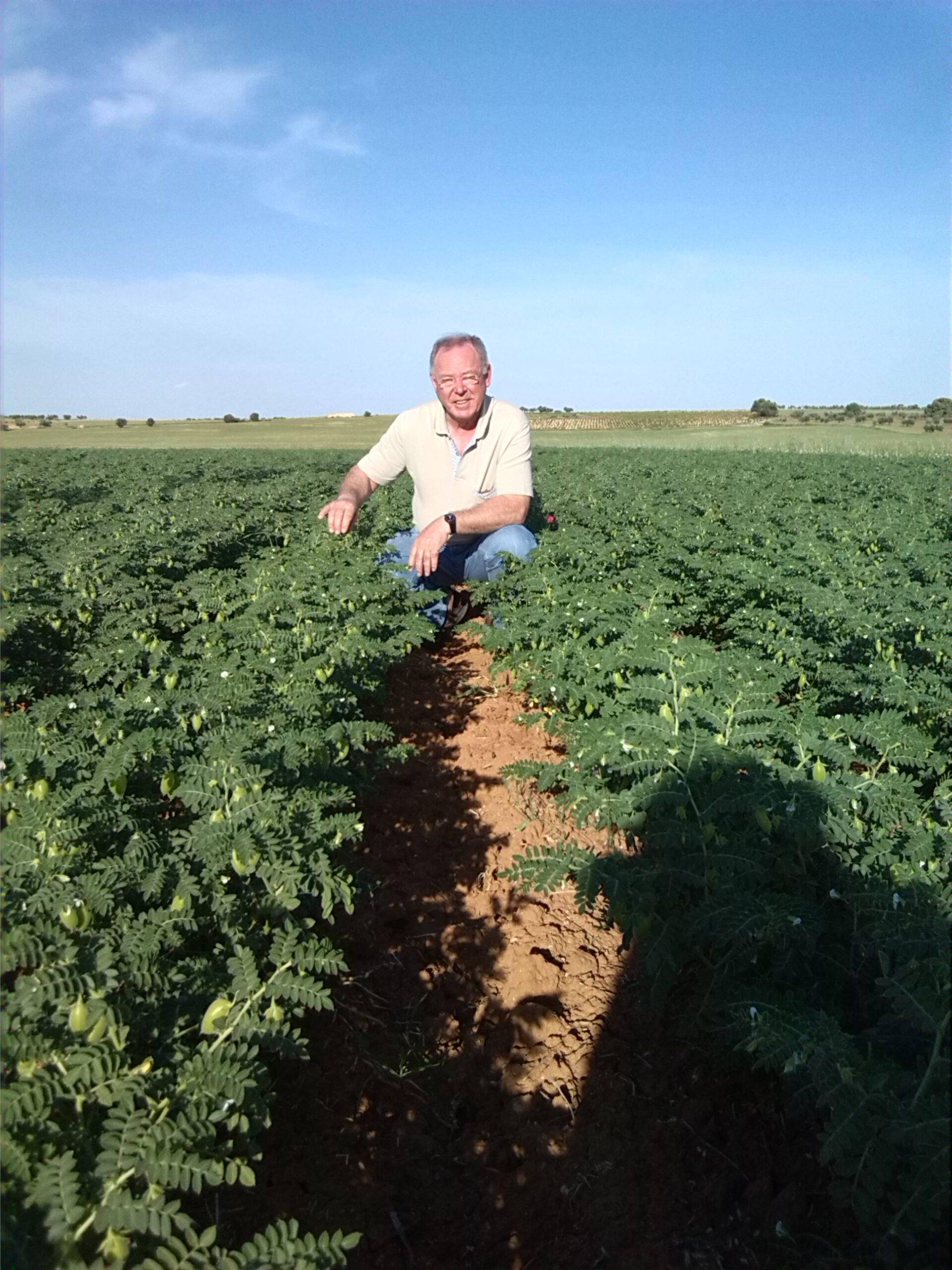 Sol, agua y tierra para la producción de conservas de leguminosas y hortalizas