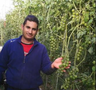 """""""Sí se puede vivir de la agricultura ecológica. Es rentable si, como en todo trabajo, le prestas atención y muchísima dedicación"""""""