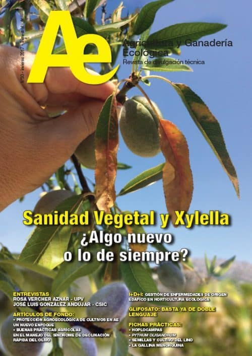 Editorial Revista Ae 30: Sanidad Vegetal Ecológica